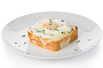 Croque-madame Sandwich