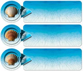 Three Sea Holiday Banners - N1