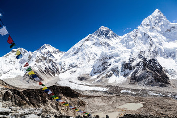 Mount Everest mountains landscape