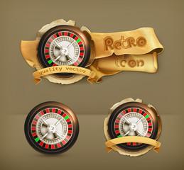 Roulette, icon