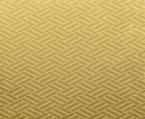 金色の和柄の背景