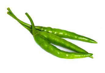 green hot chili peppers.