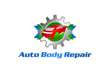 auto body repair blue green