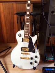 E Gitarre im Studio