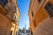 Ciutadella Menorca Placa des Born in downtown Ciudadela