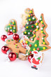 christmas cookies and decoration