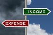 Income versus Expense