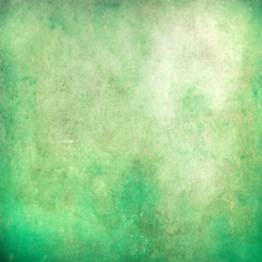 Green grunge abstract texture for background