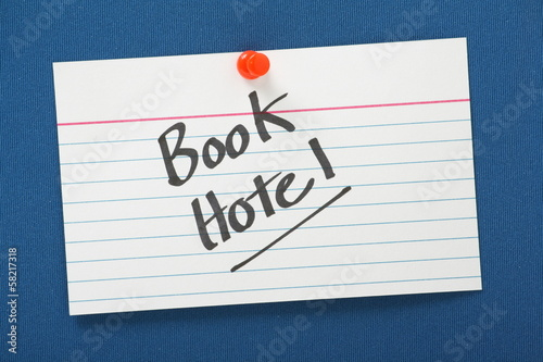 Reminder to Book Hotel Reservation