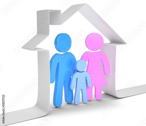 Hausband Familie