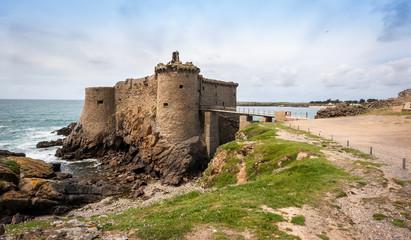 Vieux château, île d'Yeu