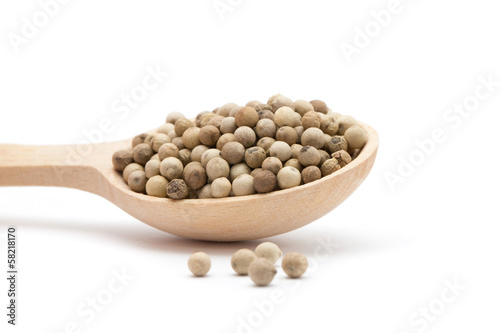 white peppercorns