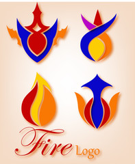 Fire Or Flame Logo Company