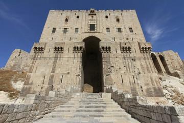 Aleppo Citadel Main Gate