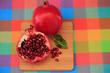 Pomegranate fruits