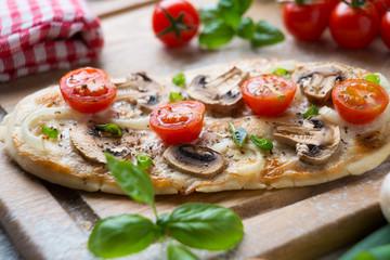 Vegetarische Mini-Pizza
