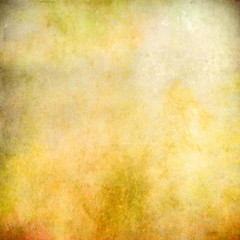 Yellow grunge abstract texture for background