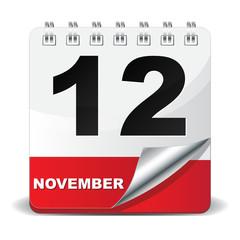 12 NOVEMBER ICON
