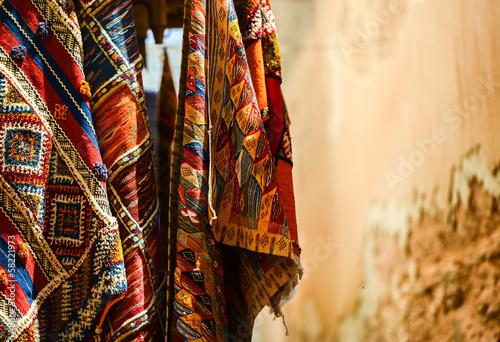 moroccan carpet store in Essaouira, Morocco - 58221973
