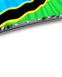 Designelement Flagge Tansania