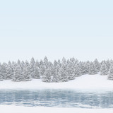 Fototapety Winter Landschaft