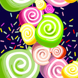 Сolorful candies background