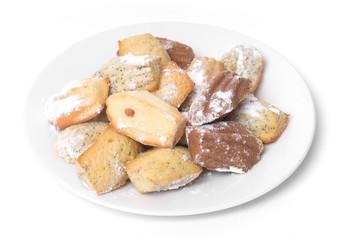 Madeleine cakes