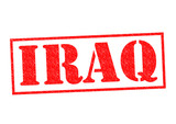 IRAQ Rubber Stamp