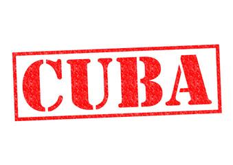 CUBA Rubber Stamp