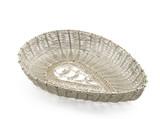 Silver handmade filigree basket poster