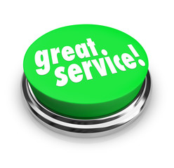 Great Service Feedback Response Review Button
