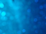 Bokeh Blue Background poster