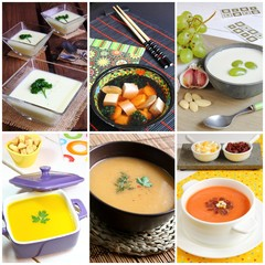 Assortment of soups