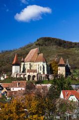 Biertan village and fortified Church in Transylvania, Romania