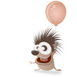 igel luftballon