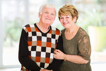 retired senior couple portrait