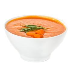 cream soup isolated