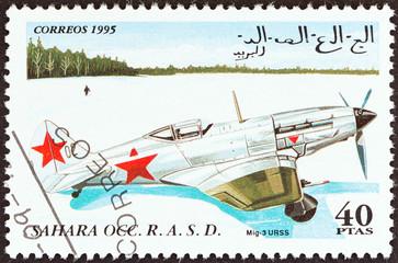 MiG-3 aircraft, USSR (Western Sahara 1995)