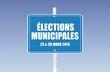 panneau élections municipales
