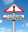 Carbon Monoxide concept.