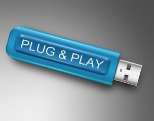 Plug and Play concept.