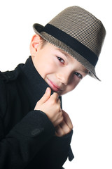 Boy with a hat