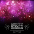 Christmas snowflkes background