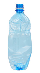Used plastic bottle
