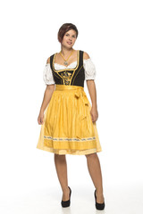 Bavarian girl in dirndl