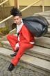 Punk Style Santa Claus