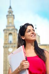 Female university student success