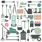 Gardening related icons 7