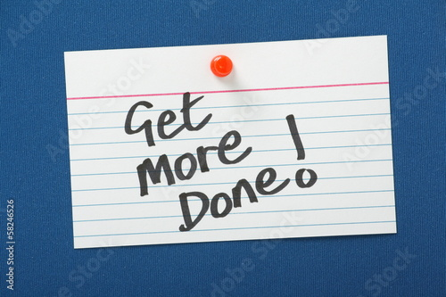 Reminder Note to Get More Done!