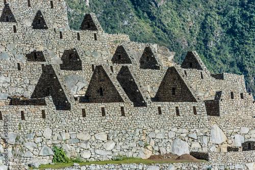 Palace of the princess Machu Picchu ruins peruvian Andes  Cuzco